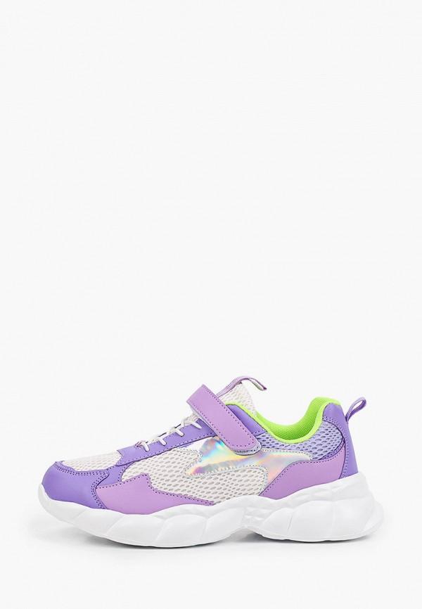 кроссовки zenden first для девочки, фиолетовые