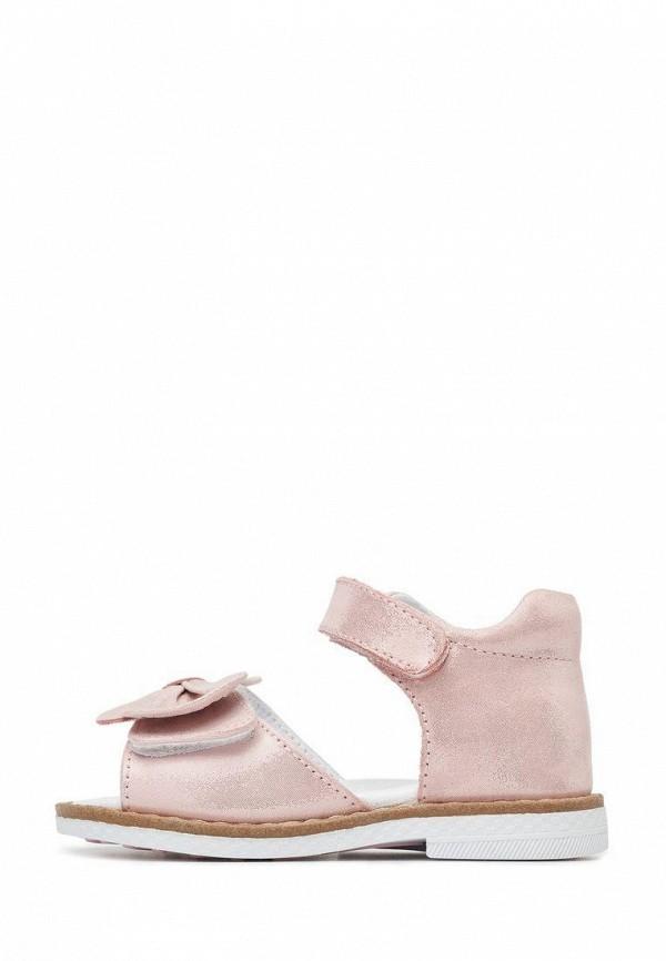 сандалии lovely puppy для девочки, розовые
