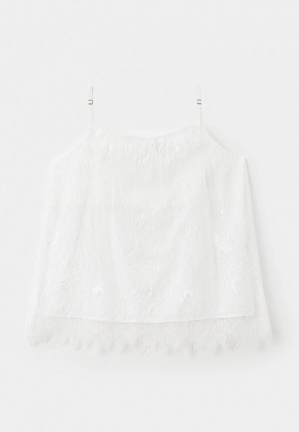 топ letty для девочки, белый