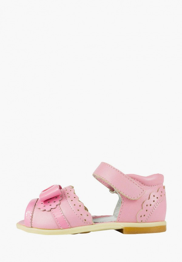 босоножки miracle me для девочки, розовые