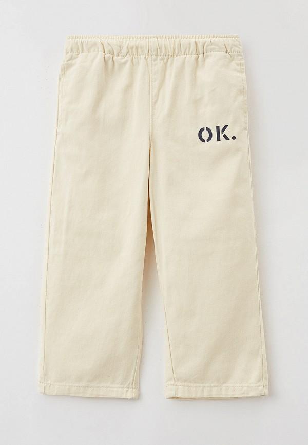 брюки sela для девочки, бежевые