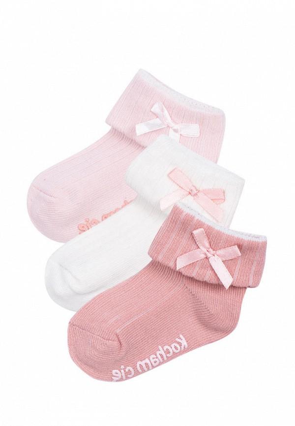 Носки для девочки 3 пары 5.10.15 цвет разноцветный