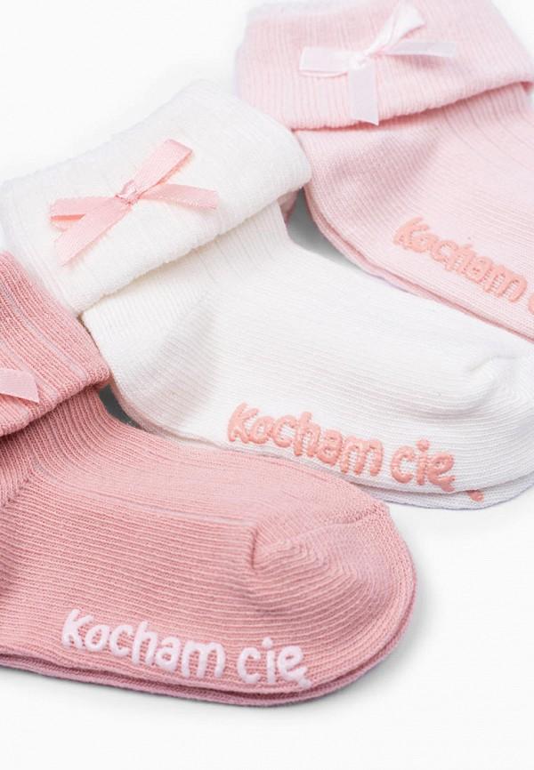 Носки для девочки 3 пары 5.10.15 цвет разноцветный  Фото 5