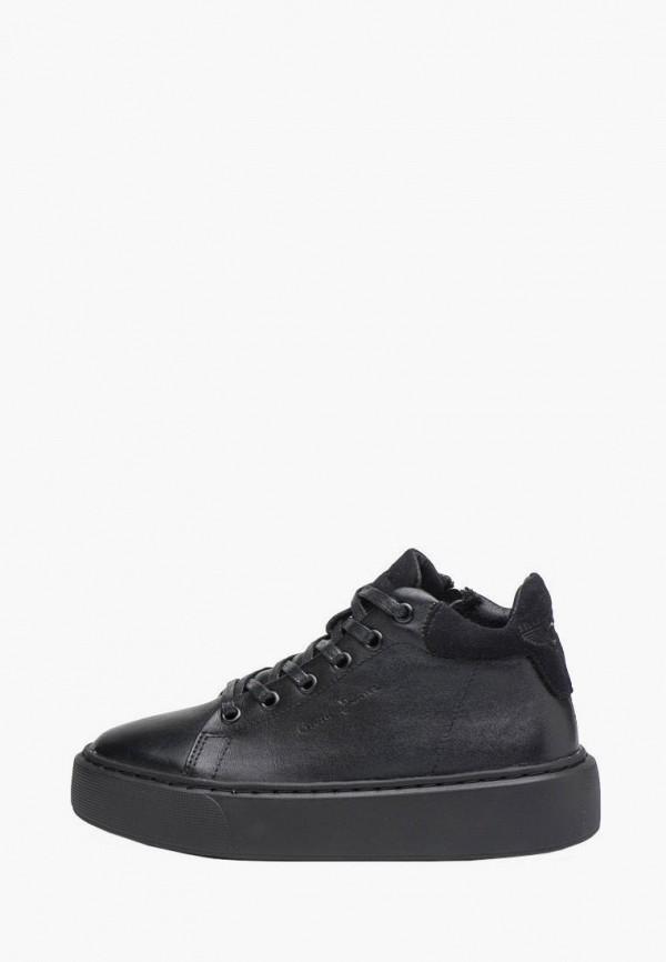ботинки broni для девочки, черные