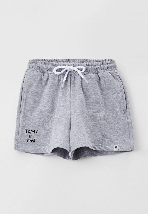 спортивные шорты sela для девочки, серые