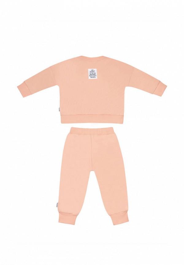 Костюм спортивный для девочки bodo цвет розовый  Фото 3