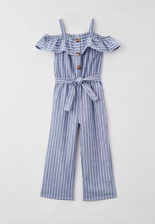 комбинезон с брюками defacto для девочки, голубой
