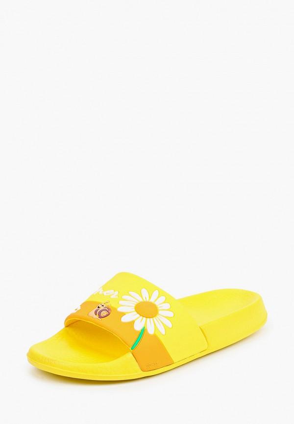 Сланцы детские Tingo цвет желтый  Фото 2
