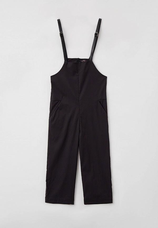 комбинезон с брюками baon для девочки, черный