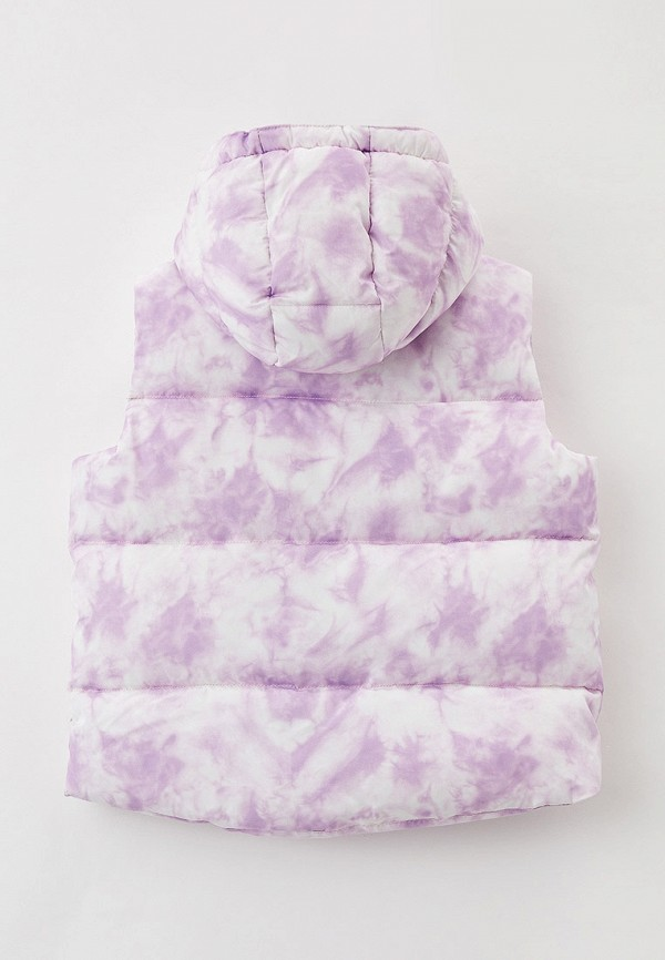 Жилет для девочки утепленный Sela цвет фиолетовый  Фото 2
