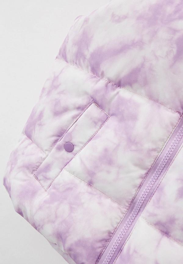Жилет для девочки утепленный Sela цвет фиолетовый  Фото 3