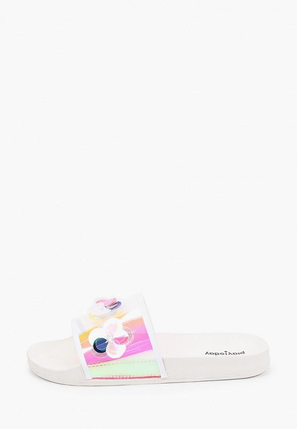 Сланцы детские PlayToday цвет белый