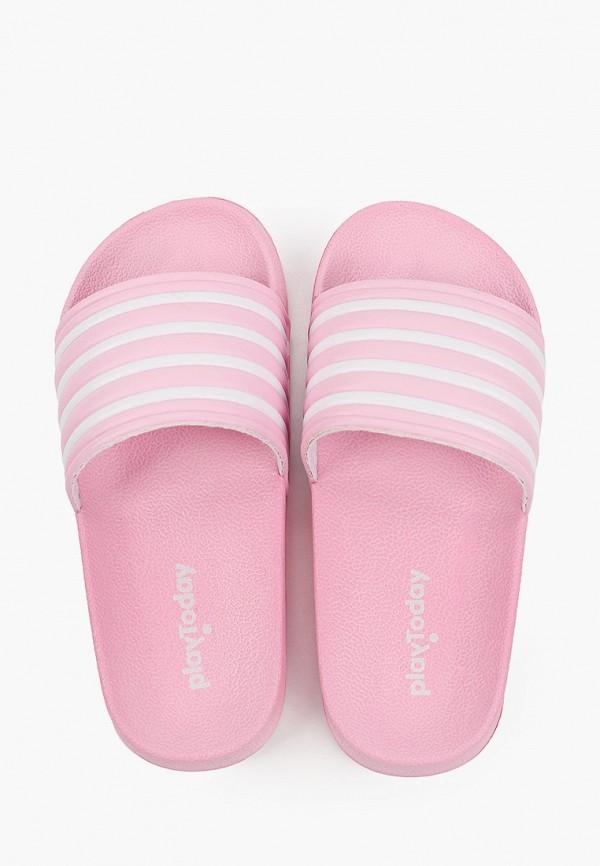 Сланцы детские PlayToday цвет розовый  Фото 4