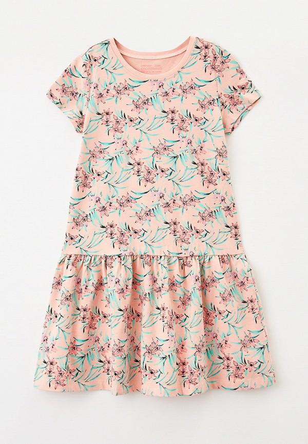 платье coccodrillo для девочки, розовое