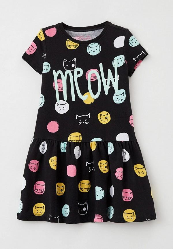 повседневные платье coccodrillo для девочки, черное