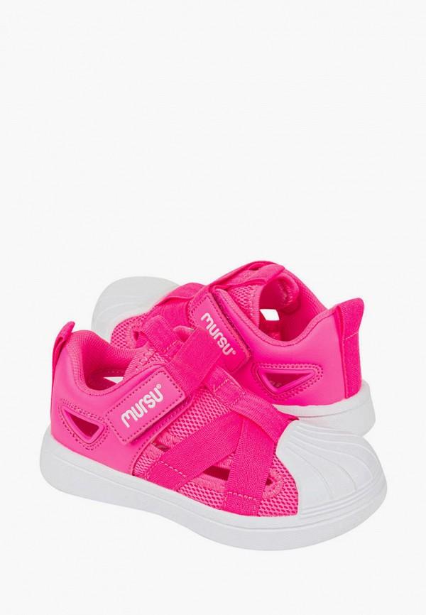 Кеды для девочки Mursu цвет розовый  Фото 2