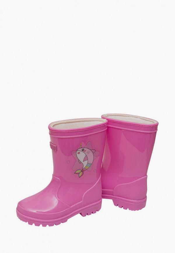 Резиновые сапоги Mursu цвет розовый  Фото 3