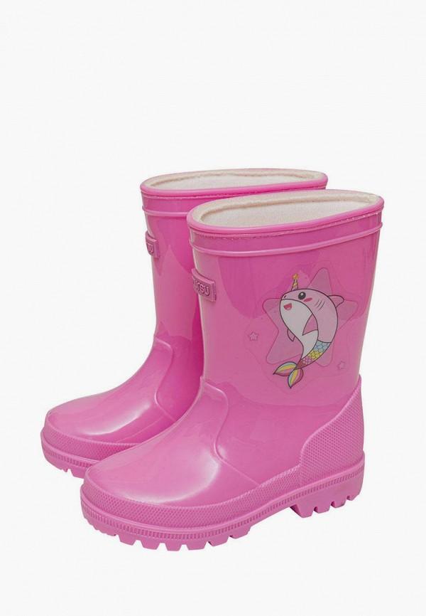 Резиновые сапоги Mursu цвет розовый  Фото 2