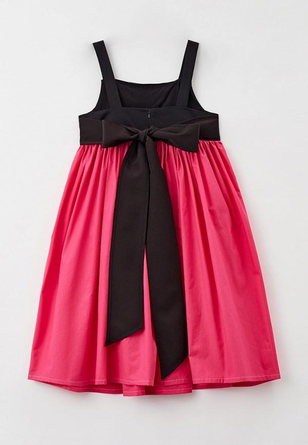 Платья для девочки Bonjour Bebe цвет розовый  Фото 2