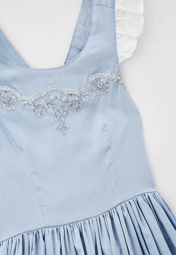 Платья для девочки Bonjour Bebe цвет голубой  Фото 3