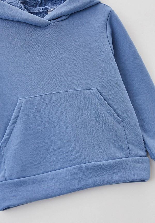 Костюм спортивный для девочки Новое Кимоно цвет голубой  Фото 3
