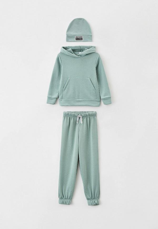 Костюм спортивный для девочки Новое Кимоно цвет зеленый