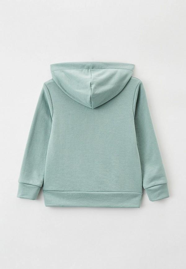 Костюм спортивный для девочки Новое Кимоно цвет зеленый  Фото 2