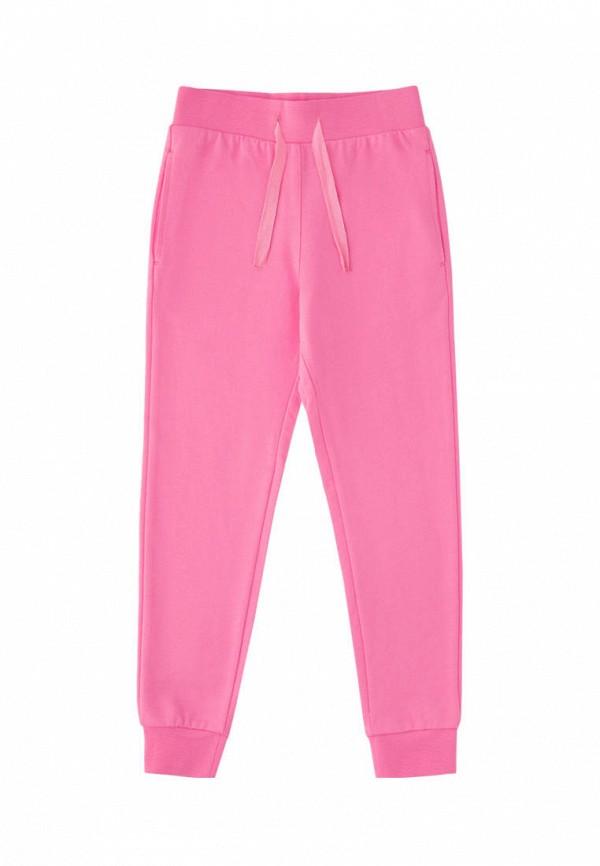 спортивные брюки crockid для девочки, розовые