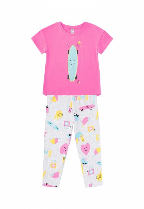 костюм crockid для девочки, разноцветный