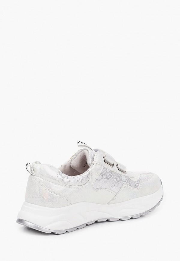Кроссовки для девочки Munz Young цвет белый  Фото 3