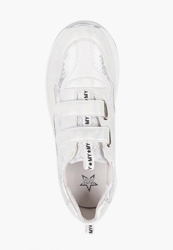 Кроссовки для девочки Munz Young цвет белый  Фото 4