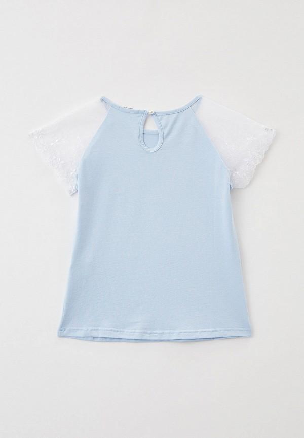 Блуза Tforma цвет голубой  Фото 2