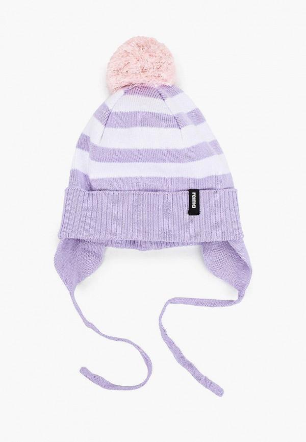 шапка reima для девочки, фиолетовая