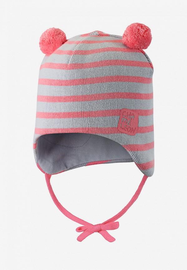 шапка lassie by reima для девочки, серая