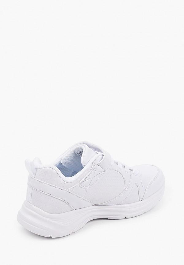 Кроссовки для девочки Skechers цвет белый  Фото 3