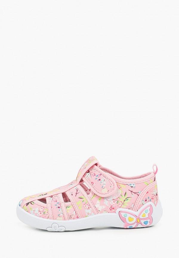 Кроссовки для девочки Капитошка цвет розовый