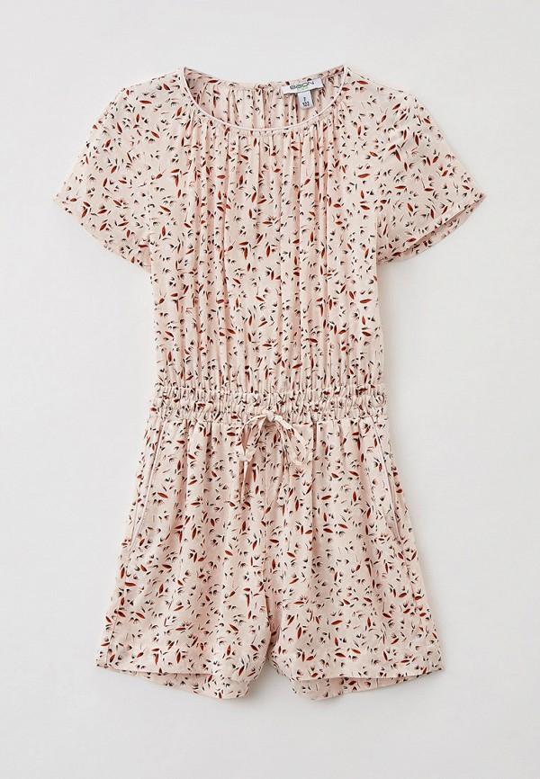 комбинезон с брюками baon для девочки, бежевый
