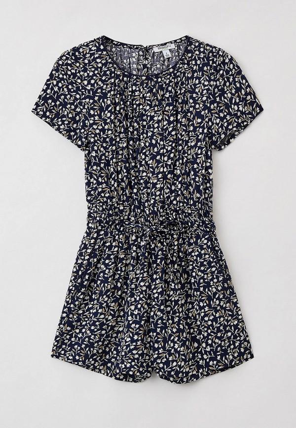комбинезон с брюками baon для девочки, синий