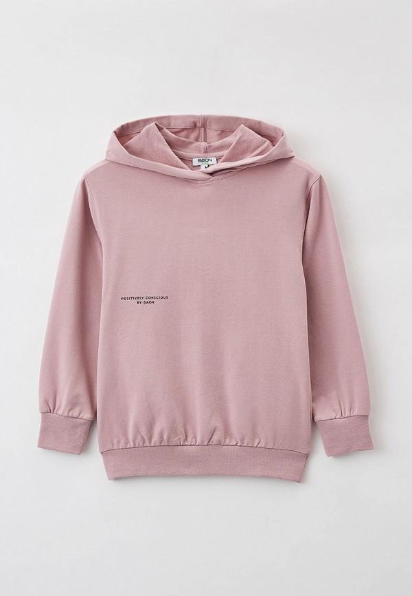 худи baon для девочки, розовые