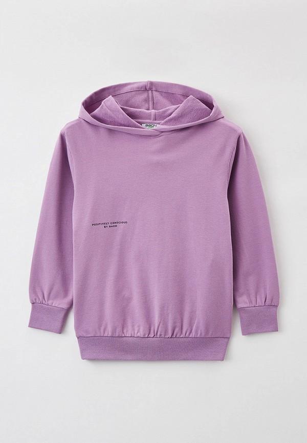 худи baon для девочки, фиолетовые
