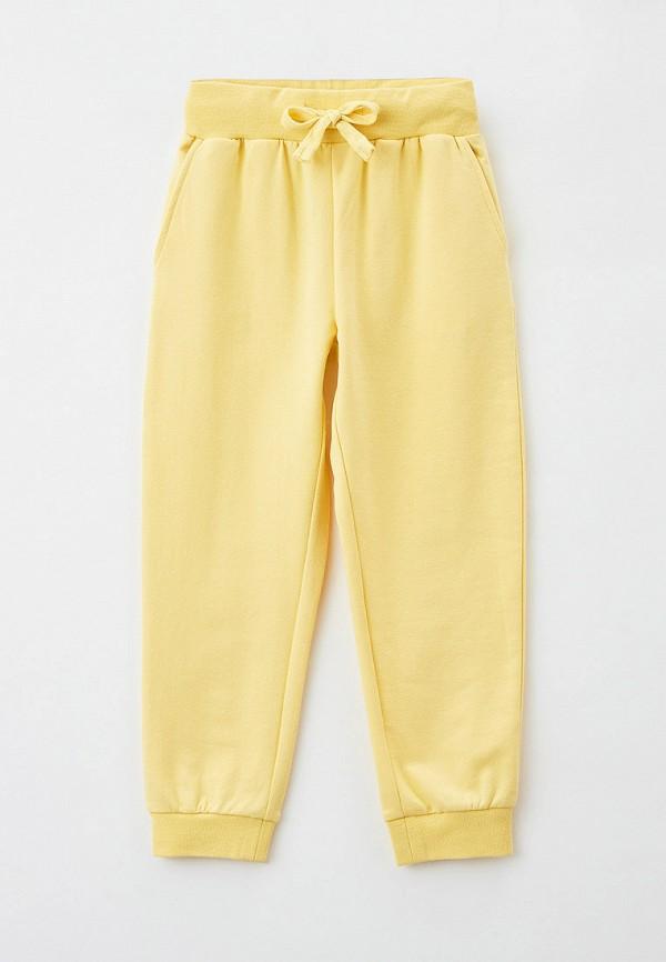 спортивные брюки baon для девочки, желтые