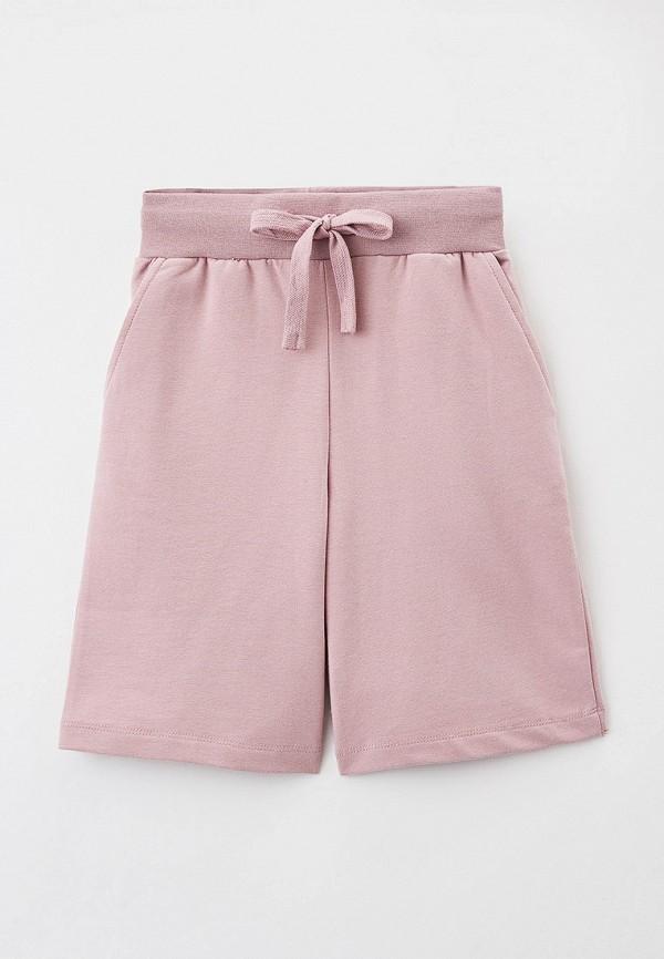 спортивные шорты baon для девочки, розовые
