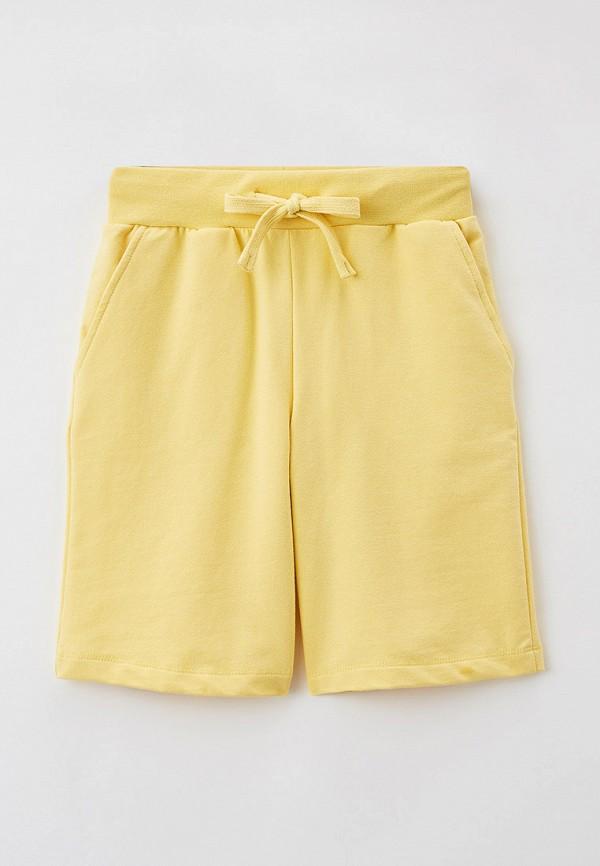 спортивные шорты baon для девочки, желтые