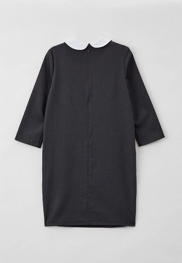 Платья для девочки Kaysarow цвет серый  Фото 2