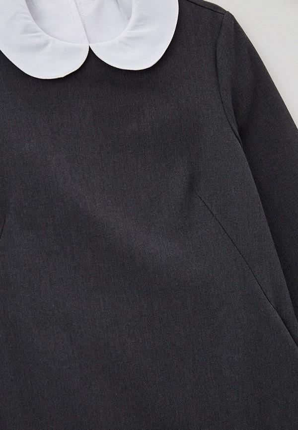 Платья для девочки Kaysarow цвет серый  Фото 3