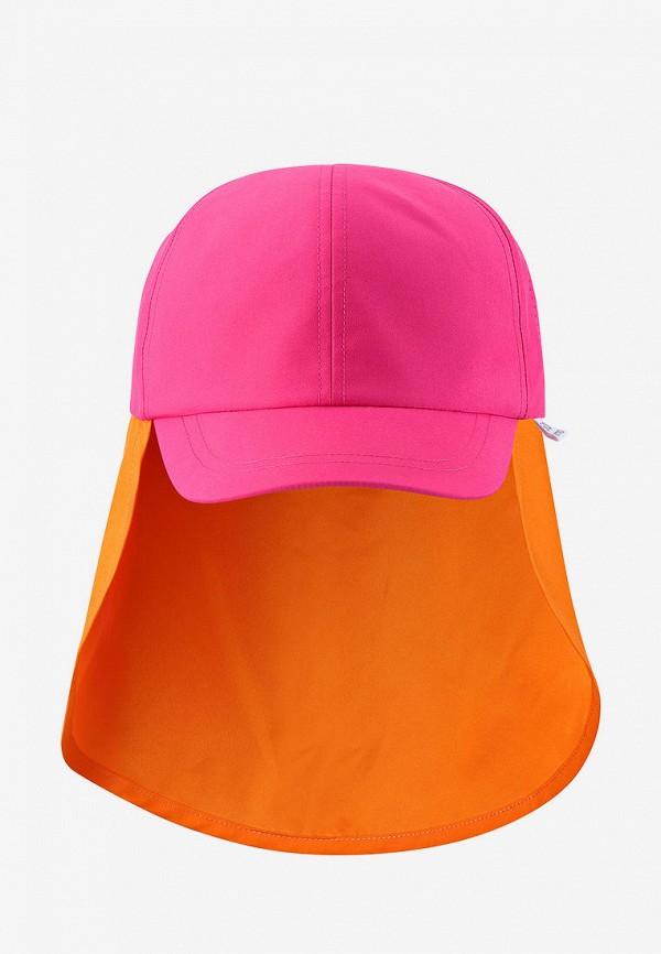 кепка reima для девочки, розовая