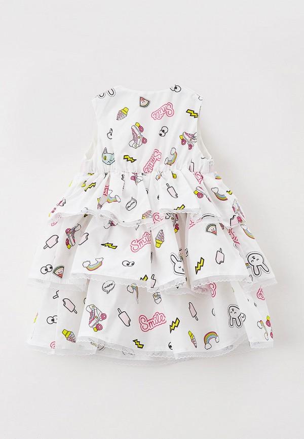 Детское платье и повязка на голову Choupette цвет белый  Фото 2