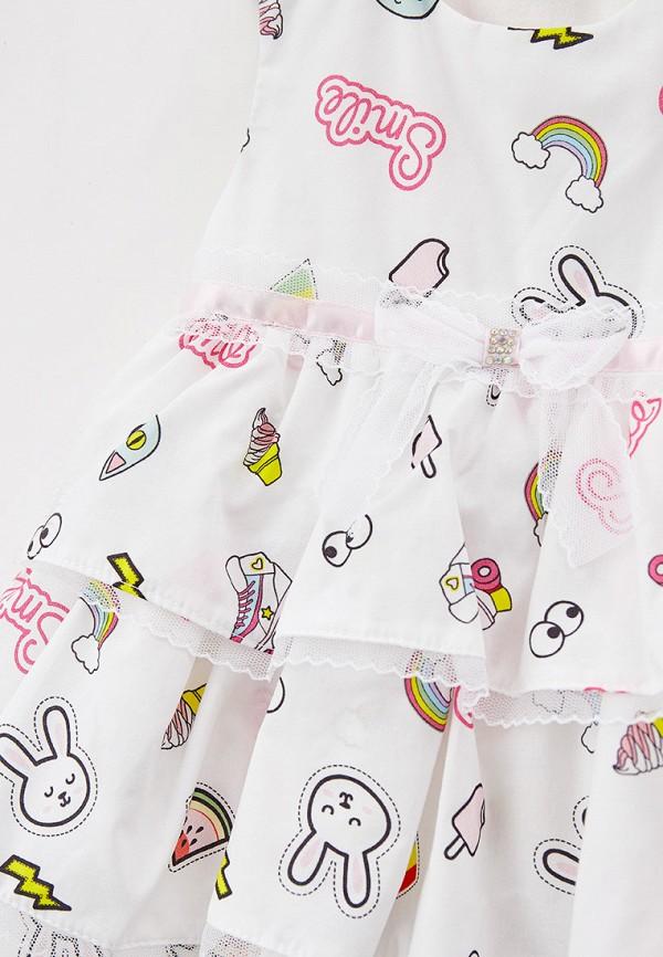 Детское платье и повязка на голову Choupette цвет белый  Фото 3