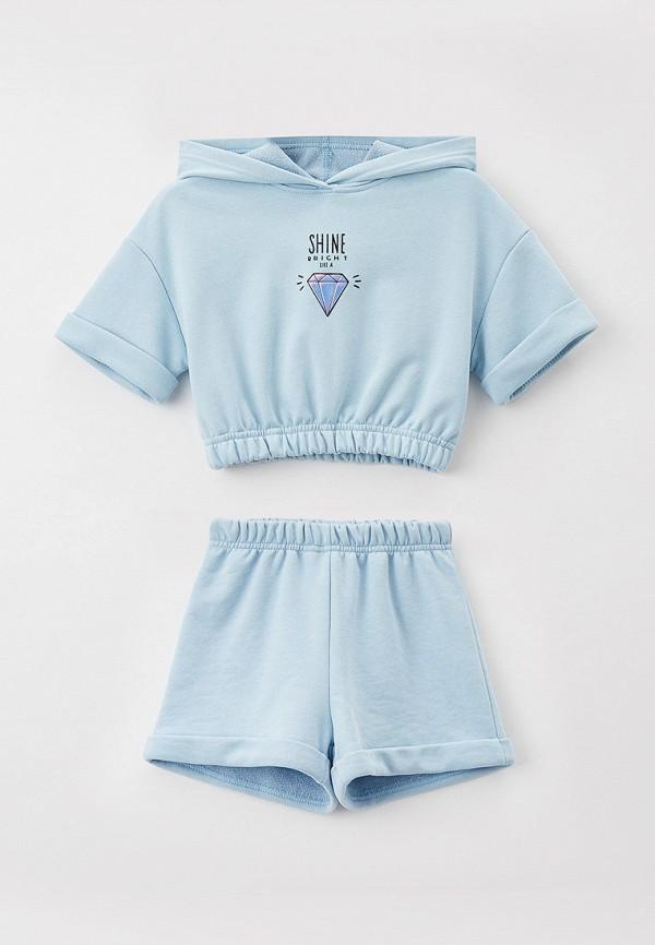 Костюм спортивный для девочки Choupette цвет голубой
