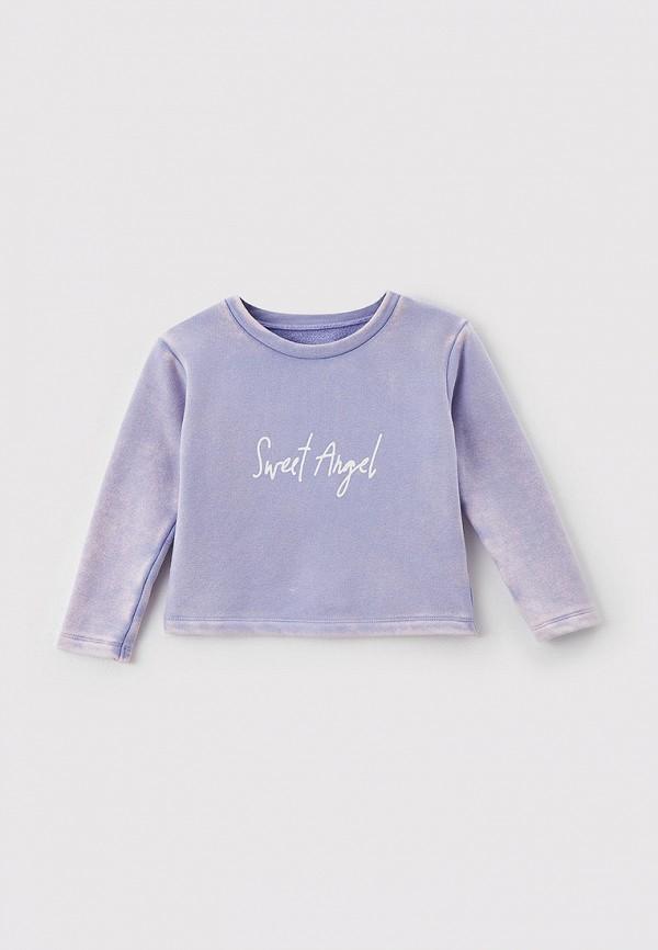 свитшот mark formelle для девочки, фиолетовый